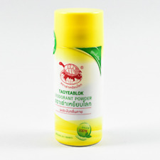 25g Taoyeablok Jt Natural Thai Herbal Powder Alum Antiperspirant Odor Deodorant