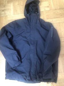 Salomon 'Clima Pro' Ski Winter Mountain Surf Black zip jacket Size L 10,000 mm