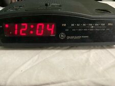 🕰 VINTAGE - GE FM/AM Battery Backup Clock Radio - Model # 7-4813A