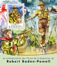 Djibouti 2016 MNH Robert Baden-Powell 75th Mem Ann 1v S/S couting Scouts Stamps