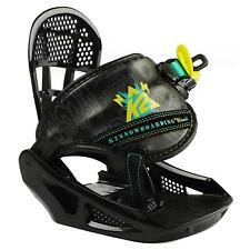 K2 Mini Turbo Bindung Snowboard Binding Kinder Boy Snowboardbindung  2013 Gr -S-