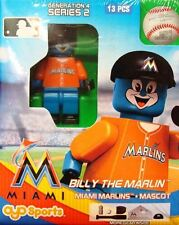 Billy the Marlin Mascot OYO Miami Marlins MLB Mini Figure NEW G4
