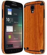Skinomi� Light Wood Phone Skin+Screen Guard for Samsung Galaxy S4 Active I9295