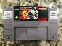 Pac-Attack & Mrs. Pac-Man SNES (Super Nintendo Entertainment System) TESTED