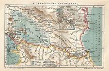 Cartina Geografica Nicaragua.Nicaragua In Vendita Mappe Atlanti E Mappamondi Ebay