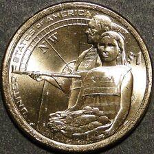 BU UNC United States 2014 Sacagawea Native American dollar $1 coin P or D