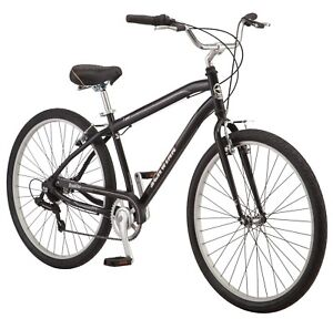Schwinn Brookline cruiser bike, 27.5 inch wheel 7 speeds black New fast shipping