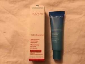 Clarins Hydra Essentiel Moisturizing Reviving Eye Mask 0.1oz/5ml New In Box
