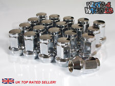 20 x Chrome Hex Wheel Nuts M12x1.5 Fits Rover 200 400 25 45 600 800 City Rover