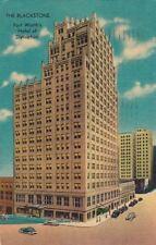 Postcard The Blackstone Hotel Dallas Fort Worth 1951