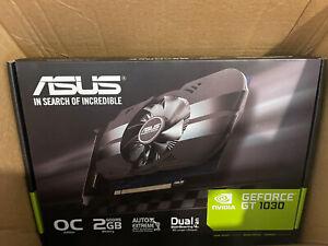💥ASUS PH-GT1030-O2G GeForce GT 1030 2GB Phoenix Fan OC Edition + FREE UPS SHIP
