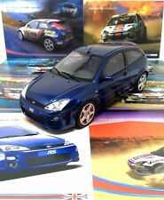 Ottomobile 1/18th Ford Focus RS Mk1 96/2500 and Unique Brochure Collection