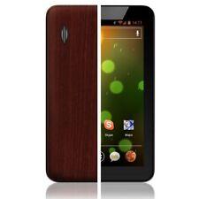 Skinomi Tablet Skin Dark Wood+Screen Guard for Ematic Genesis Tab 7 in EGL26BL