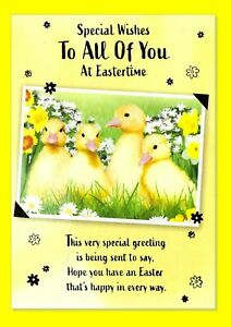 Easter Card - To All The You - Chick Scene 730A