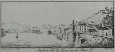[VIENNE - ISERE] BOLLINGER & SIDLER Ansicht des Kai bei Vienne an der Rhone