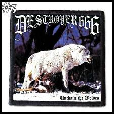 DESTROYER 666  --- Patch / Aufnäher --- Various Designs