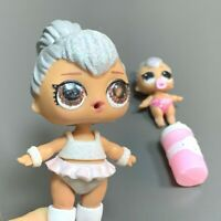 Super Rare LOL Surprise Doll Kitty Queen Big Sister & Lil Toy Jouets