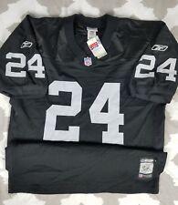 370b71430 Charles Woodson Oakland Raiders Reebok BNWT Authentic Jersey sz 52 XL Las  Vegas