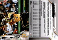 2020 Topps Series 1 STARLING MARTE Advanced Stat Parallel /300 Pirates #183