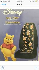 New 2 pc Set - Paradise Pooh - Winnie - Front Car Seat Covers Plasticolor Disney