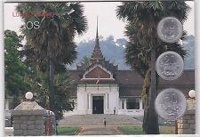 LAOS : SERIE 10, 20 & 50 ATT 1980 SOUS BLISTER