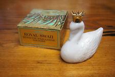 Vintage Avon Decanter Bottle with original Box - 1971 Royal Swan