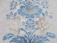 Designers Guild Curtain Fabric 'DAMASCO - DELFT' 3.6 METRES (360cm) 100% Cotton