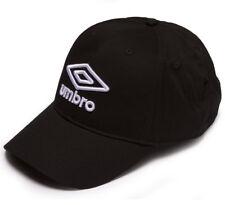 Umbro Logo Casquette Noir Fermeture Velcro