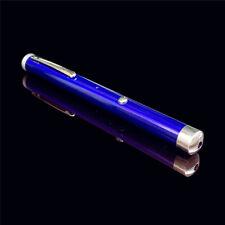 Usb Rechargable Green Laser Pointer Pen Beam Light 532nm 5mW blue body
