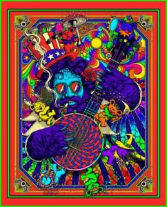 Color Man-Blacklight Poster- Fantasy Poster -Poster Print