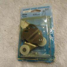 Slide-Co Closet Door Hardware Wardrobe Roller Set 2 161151 New Stock
