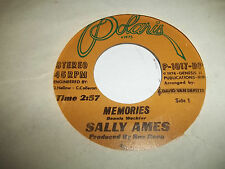 SALLY AMES 45  I'VE GOT MY EYE ON YOU / .MEMORIES 1973 polaris excellent +