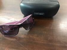 Dolce And Gabbana Sunglasses Women Purple Big Frames Confetti With Case