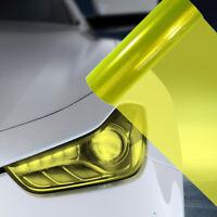 A4 Fluro Yellow Car Headlight Fog Light Tint Film  FLF081