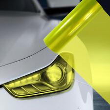 A4 Fluro Yellow Car Headlight Fog Light Tint Film  FLF081