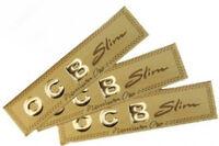 10 Broschüren Ocb Gold Schlanke Premium Zigarettenpapiere