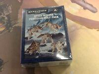 40K Warhammer Space Wolves Fenrisian Wolf Pack NIB Sealed