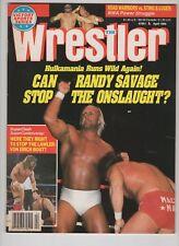 The Wrestler Magazine  April 1989 Hulk Hogan Hulkamania Randy Savage