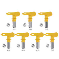 Airless Spray Gun Tips Nozzle For Paint Sprayer Tool 211-517 Series