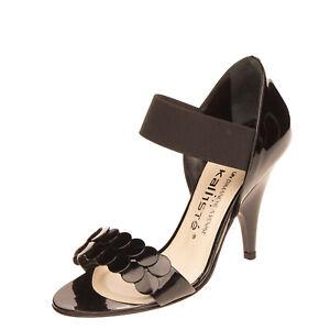 RRP €250 UN DIMANCHE A VENISE PAR KALLISTE Leather Sandals EU 36 UK 3 US 6 Heel