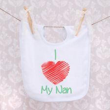 Baby Bib - I Love My Nan