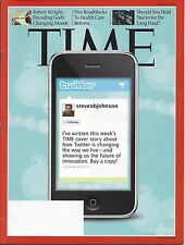 TIME Magazine June 15, 2009 Twitter featured