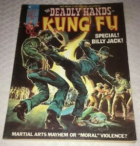 DEADLY HANDS OF KUNG FU   #11  April  SPECIAL BILLY JACK