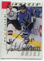 1997-98 Be A Player Autographs 5 Adam Oates Auto