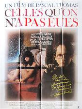Affiche 120x160cm CELLES QU'ON A PAS EUES 1981 Pascal Thomas - Daniel Ceccaldi