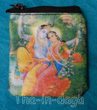 Porte Monnaie Plastique Divinites Indiennes 8x8cm 5g Tha-in-daga Inde I