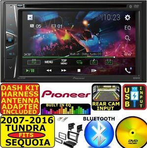 2007-2016 FOR PIONEER & TUNDRA-&SEQUOIA  BLUETOOTH USB DVD  CAR RADIO STEREO PKG