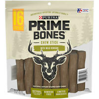 Brand NEW & SEALED!!! Purina Prime Bones Chew Stick with Wild Venison, 16 Chews
