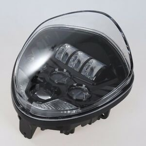 Victory Cross Country Tour Motorcycle Chrome Led Headlight