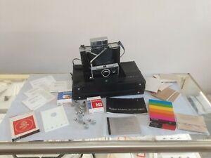 Polaroid Automatic 250 Land Camera With Portrait Kit Timer Bulbs Vintage #E2